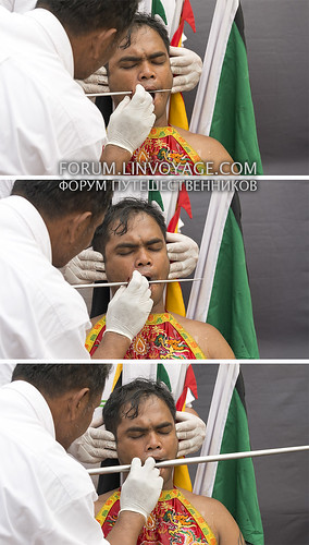 Faces of Phuket Vegetarian Festival - eruption of the cheek process | by Andaman4fun