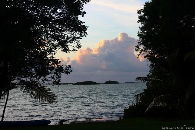 Goodbye Belize Tour - Wildtracks, Sarteneja - Sunrise Day 1 - 11