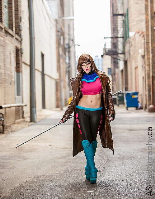 The amazing Nadya Sonika as Lady Gambit captured at C2E2 2013