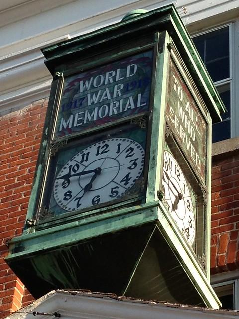 WWI Clock