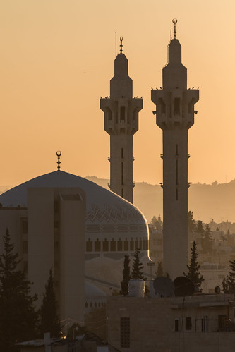 abdali amman jordan kingabdullahimosque minarets sunrise mosque ammangovernorate