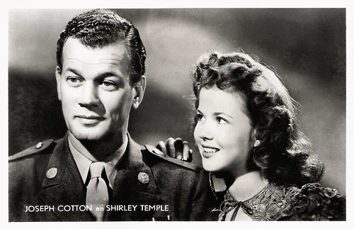 Joseph Cotten and Shirley Temple in I'll Be Seeing You (1944)