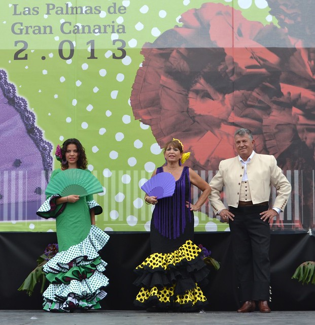 Estudio Flamenco Amparo Navarro Pasarela Andaluza VI Feria Abril 2013 Las Palmas de Gran Canaria  135