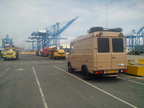 Puerto Manzanillo - bus ingeleverd