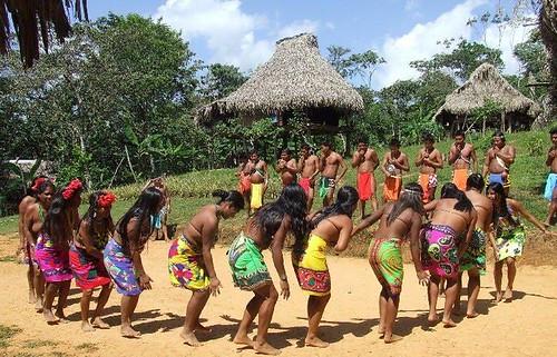 Danza Embera, Fiesta de San Juan, Iquitos, Loreto, Perú
