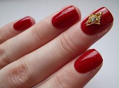L'Oreal Femme Fatale and BornPrettyStore nail decoration