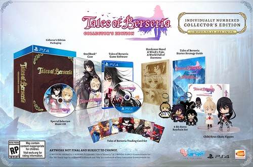 Tales of Berseria Collector's Edition, PS4 | by PlayStation.Blog