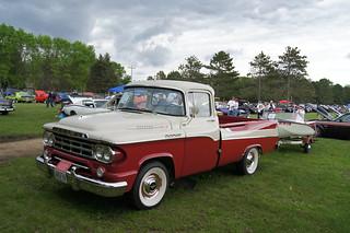59 Dodge 100 Sweptside Pick-Up   by Crown Star Images
