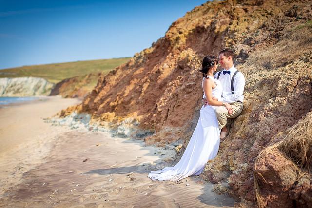 Wedding Shoot, Compton Beach, Isle of Wight - IMG_2554