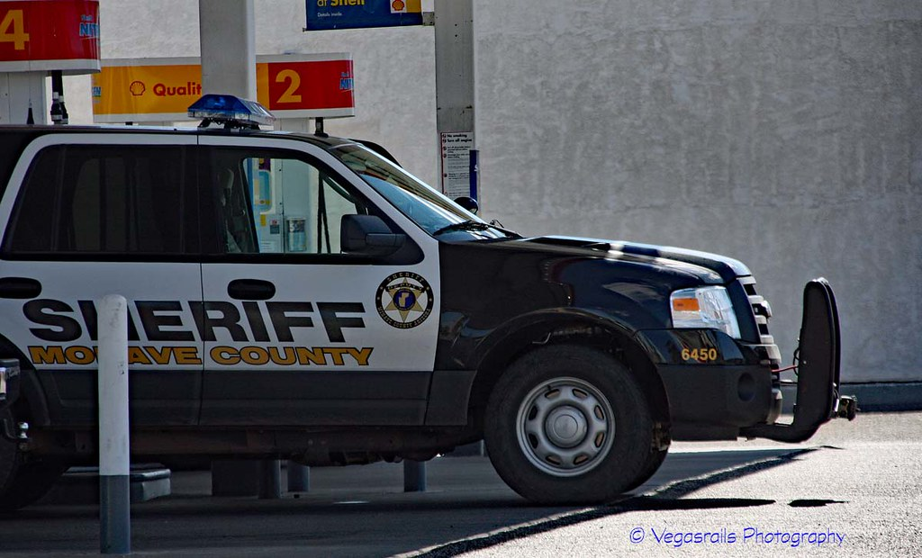 Mohave County Sheriff Az Ford SUV   Taken in Mesquite Nv  Co