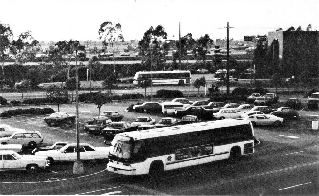 Southern California Rapid Transit District Bus RTD in 1982