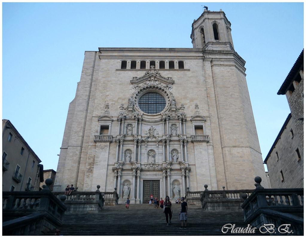 Catedral De Girona Claudia B E Flickr