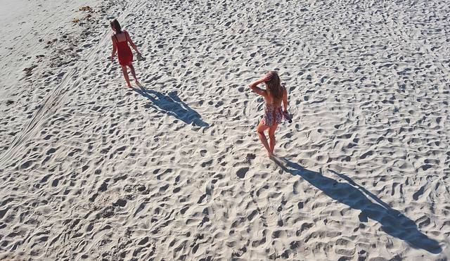 Nieces on the Beach