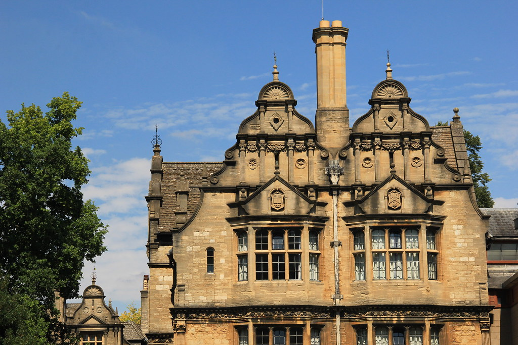 Architecture in Oxford, England
