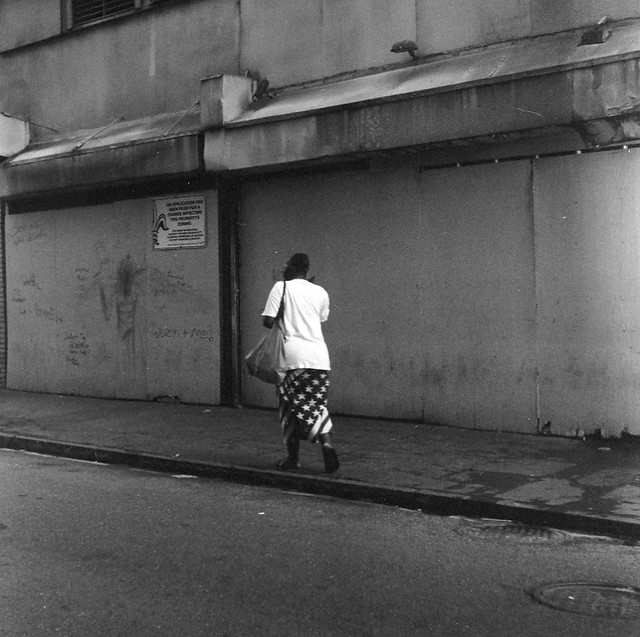 Walking In French Quarter