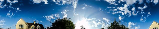 Crepuscular & Anticrepuscular Rays 06/08/18