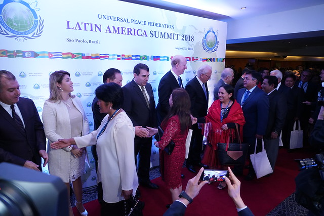 BRAZIL-2018-08-02-LAS2018-Latin America Summit Begins amid Warmth and Hope