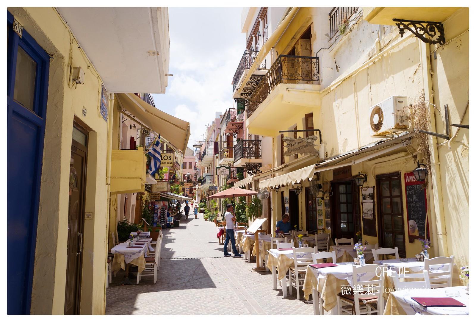 【希臘克里特島Crete】早晨的哈尼亞Chania舊城區 威尼斯與土耳其交織的美麗古城 @薇樂莉 Love Viaggio | 旅行.生活.攝影