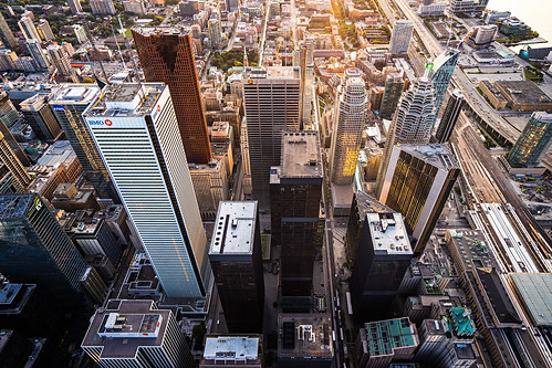 Bay Street Sunrise | by Michael Muraz Photography Aerials