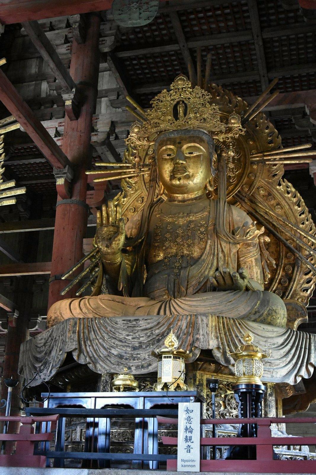 Nara - Todai-ji - un bouddha