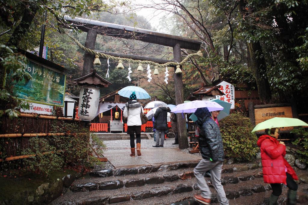 2013 日本跨年大暴走 Day 3(京都 – 天龍寺、嵯峨野竹林、野宮神社)