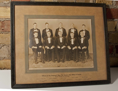 1934 Sgts' Mess 04172 Framed | by L.G.Hicks Memorial Collection