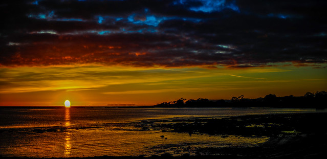Sunrise In Wynyard, Tasmania