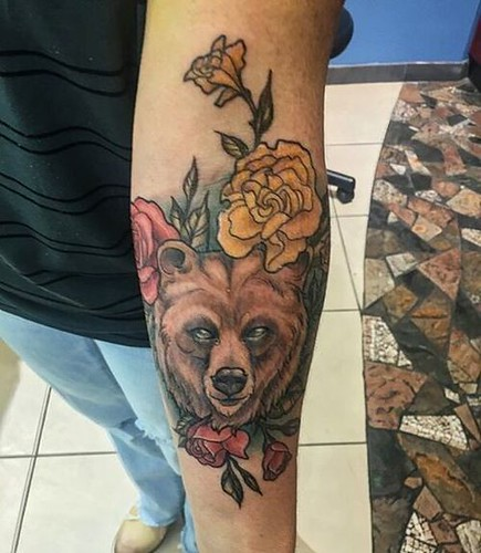 Grizly Bear Tattoo