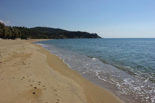 coast seaside shore outdoor beach landscape sand water sea waterfront bay macedoniagreece makedonia timeless macedonian μακεδονια