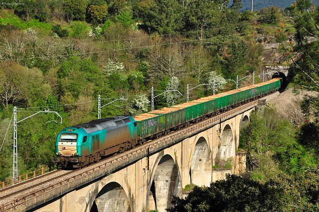 Maderero. Viaducto de Sequeiros