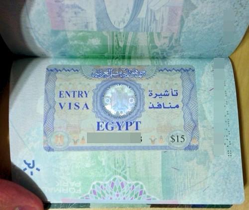 Egyptian Tourist Visa In My Brand New 2010 Version British Flickr