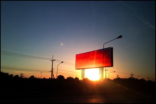sunset thailand thasaan 35dregrees