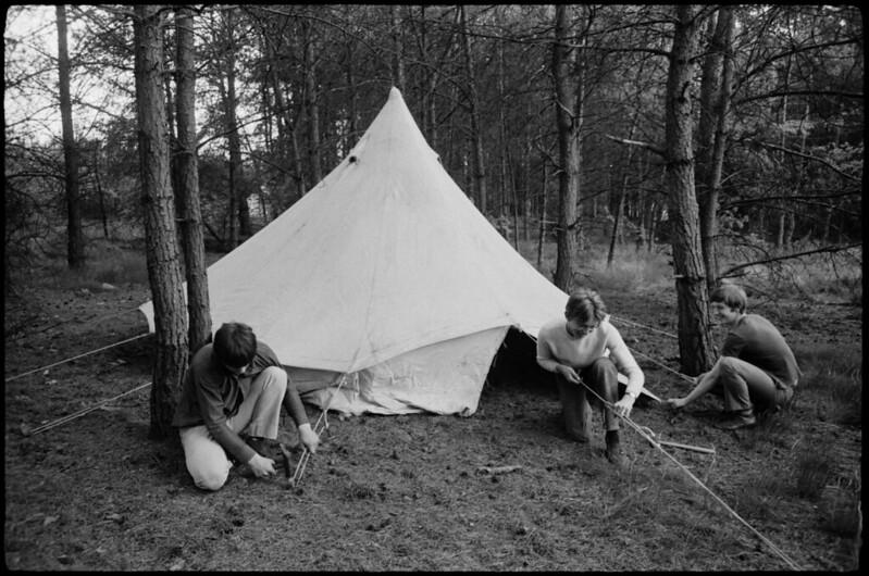 Pfingstzeltlager der KSJ Bottrop 1968
