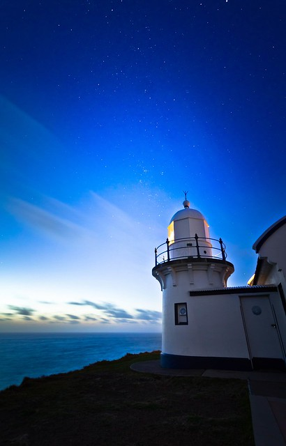 Blue Motion - Lighthouse in Port Macquarie, Australia