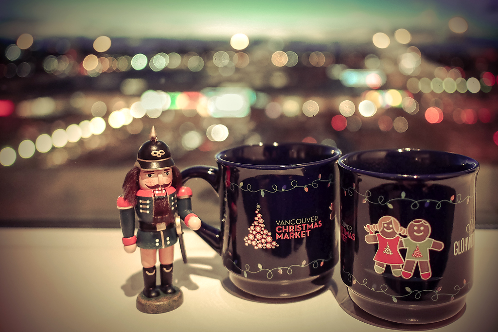 Vancouver Christmas Market Mug.2014 Vancouver Christmas Market Gluhwein Mugs Photo Taken