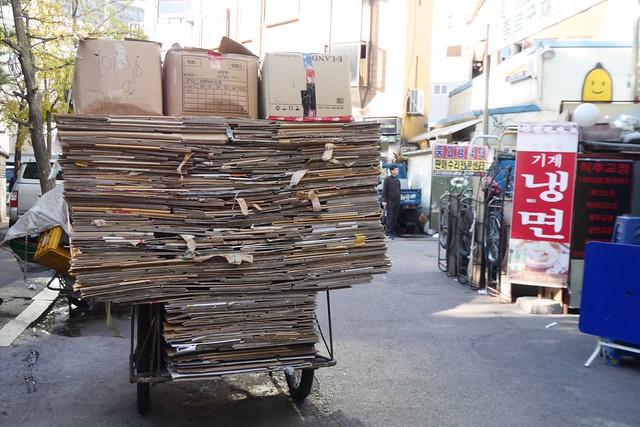 月, 2014-11-03 01:20 - タプコル公園付近に集まる回収屋