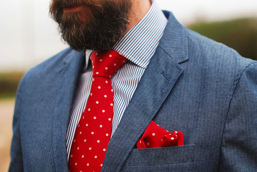 Menswear: Jacket, Shirt and Tie | by silverlondoner