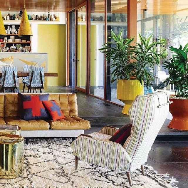Mid Century Modern living room featured in Spain Architect ...