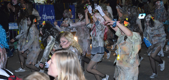Zombie Girls on St Charles