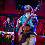 Tue, 13/09/2016 - 5:03pm - Okkervil River performs for an audience of WFUV Marquee Members on September 13, 2016 at Rockwood Music Hall in New York City. Hosted by Russ Borris. Photo by Gus Philippas/WFUV.
