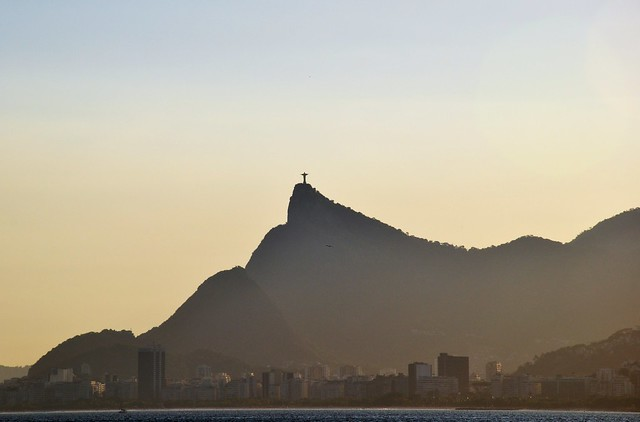 a view of Christ the Redeemer Monument... 46 degrees today!