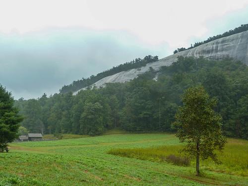 fall northcarolina granite monadnock batholith stonemountainstatepark stonemountainnorthcarolina