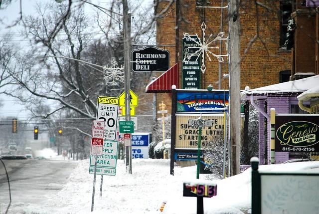 January Snow, Richmond Illinois