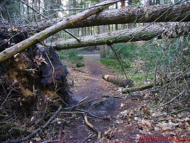W.S.V.de Trekvogels 09-02-2008 15 Km  Apeldoorn (10)