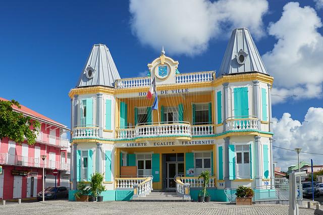 Mairie du Moule [ Grande-Terre ~ Guadeloupe ]