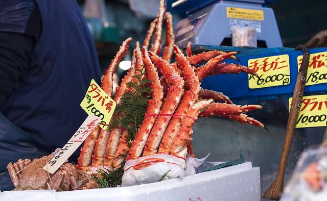 crab legs..