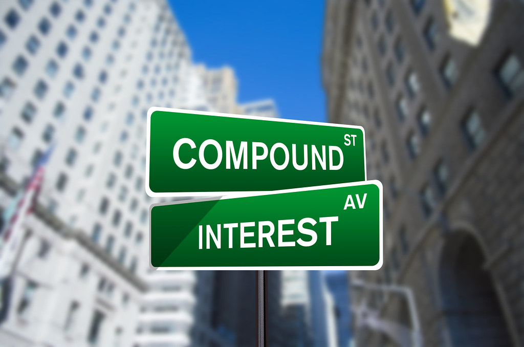 Compound Interest Street Sign On Wall Street | Compound Inte… | Flickr