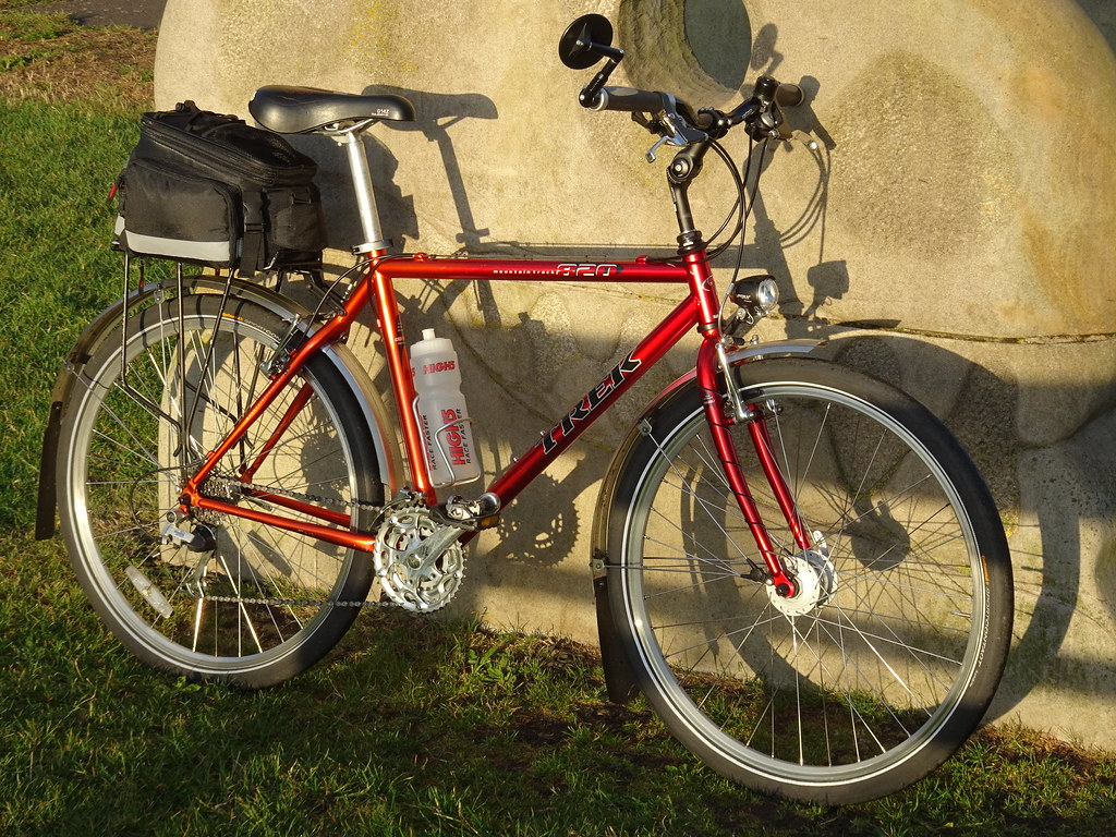 Trek 820 | Modified 1998 Trek 820 for all weather, all year