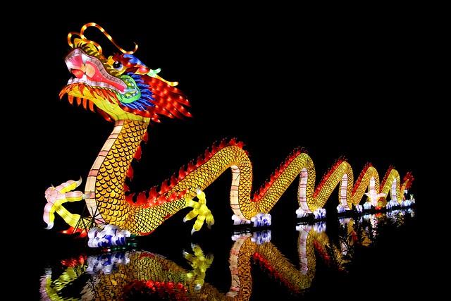 新年快樂~祝大家羊羊得意喔!    Happy Chinese New year! / Chinese Dragon
