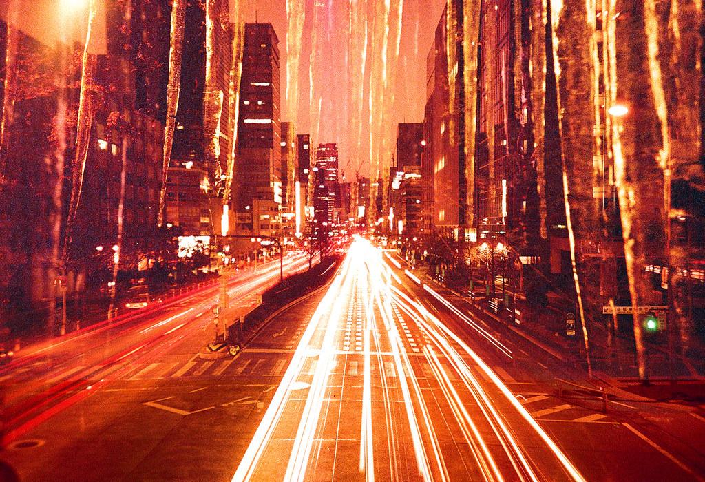 宵闇の氷柱都市 -icicle city